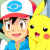 hector as ash and pikachu